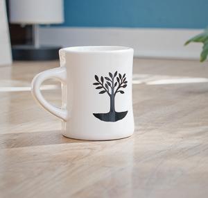 Utopian Coffee Diner Mug